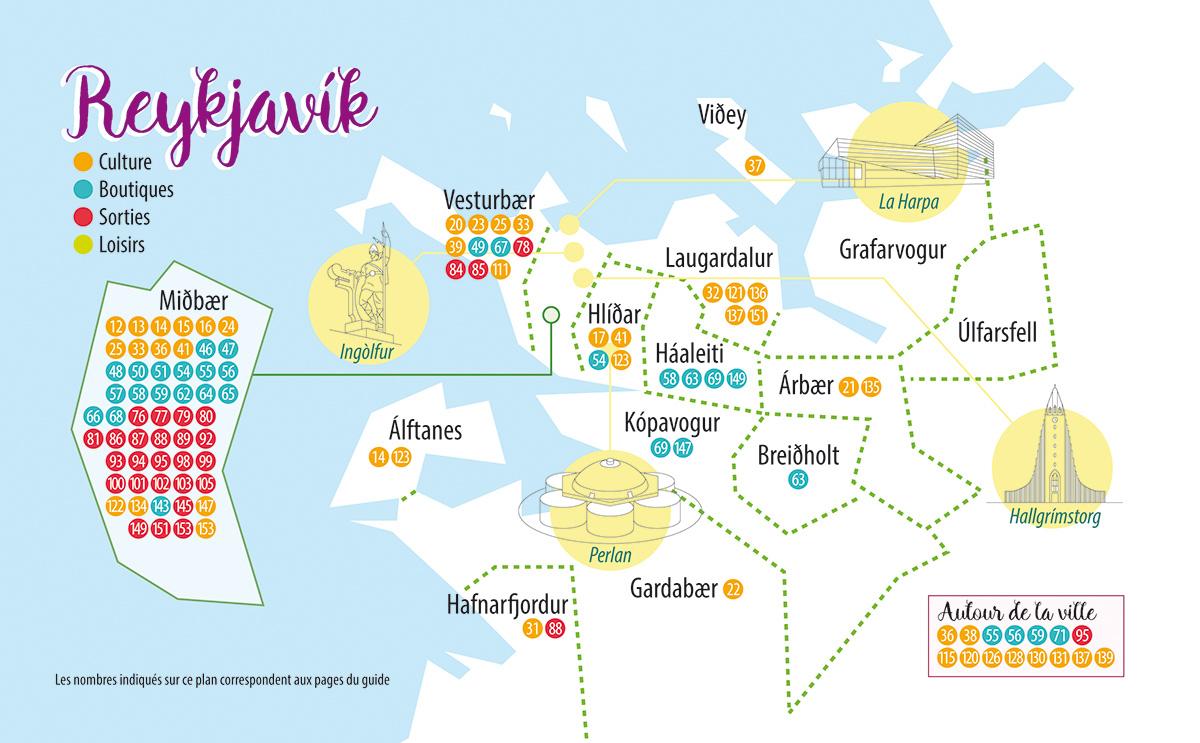 Reykjavik_Quartiers